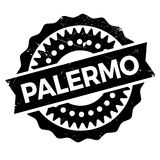 Palermo stamp rubber grunge Royalty Free Stock Photography