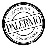 Palermo stamp rubber grunge Stock Images