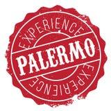 Palermo stamp rubber grunge Royalty Free Stock Image
