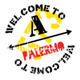 Palermo stamp rubber grunge Royalty Free Stock Photos