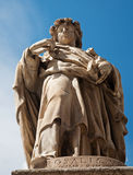 Palermo - Statue of Santa Rosalia patron of the city Stock Photography