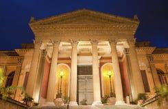 Palermo - Teatro Máximo Fotografía de archivo