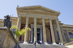 Palermo, teatro Massimo Royalty Free Stock Images