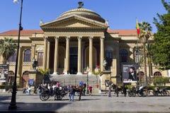 Palermo, teatro Massimo Royalty Free Stock Photo