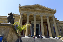 Palermo, teatro Massimo Royalty Free Stock Photography