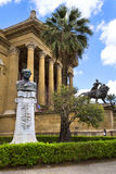 Palermo, teatro Massimo Stock Photo
