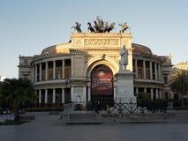 Palermo - Teatro Politeama Lizenzfreie Stockbilder