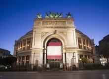 Palermo - Teatro Politeama Garibaldi Stock Photo