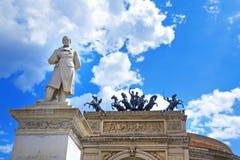 Palermo, Teatro Politeama Stock Photos