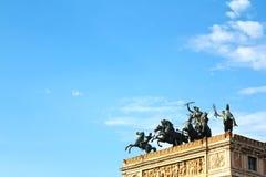 Palermo, Teatro Politeama Royalty Free Stock Image