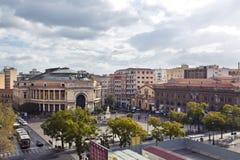 Palermo, theater Politeama stock photography