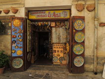 Typical shop in Palermo Royalty Free Stock Images