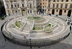 Palermo velho 4 foto de stock