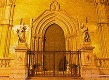 Palermo -  West portal of Cathedral Royalty Free Stock Images