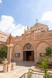 Palestin. Bethlehem. The Church of the Nativity. Palestin. The city of Bethlehem. The Church of the Nativity of Jesus Christ Stock Photos