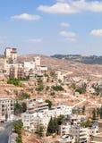 Palestin. A cidade de Bethlehem Imagens de Stock