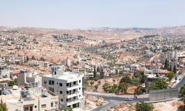 Palestin. A cidade de Bethlehem Fotografia de Stock Royalty Free