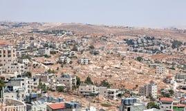 Palestin. A cidade de Bethlehem Fotografia de Stock
