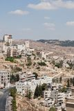 Palestin. The city of Bethlehem Stock Image