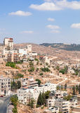 Palestin. The city of Bethlehem Stock Images