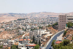 Palestin. The city of Bethlehem Royalty Free Stock Images
