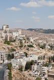 Palestin. La città di Bethlehem Immagine Stock