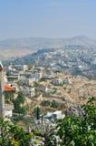 Palestin. The city of Bethlehem Royalty Free Stock Photo