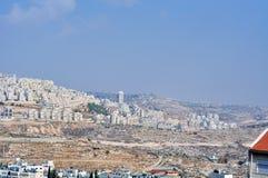 Palestin. Miasto Betlejem Zdjęcia Stock