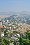 Palestin. La città di Betlemme Fotografia Stock Libera da Diritti