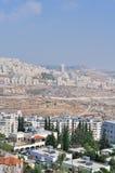 Palestin. La città di Betlemme Fotografia Stock