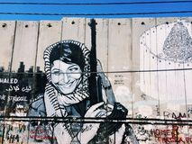 Palestina. Something special for people. Art and war Royalty Free Stock Photography