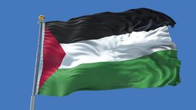 Palestine animated flag pack in 3D and green screen