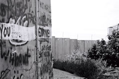 Palestine barrier Royalty Free Stock Photo