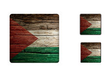 Palestine flag Buttons Royalty Free Stock Photos