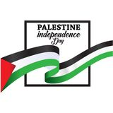 Palestine Happy independence day Background royalty free stock photography