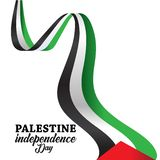 Palestine Happy independence day Background stock photography