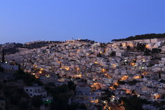 Palestine. In the night, Israel Stock Photography