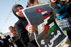 palestine protest Zdjęcia Royalty Free