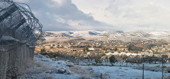 Palestine in winter Royalty Free Stock Photos