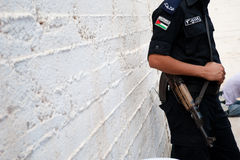 Palestinian Authority Police Stock Photography