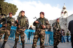 Palestinian Authority Police Stock Photo