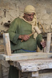 Palestinian carpenter Royalty Free Stock Image