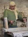 Palestinian carpenter Royalty Free Stock Image