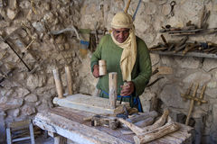 Palestinian carpenter Royalty Free Stock Photo