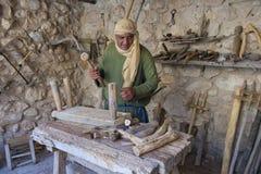 Palestinian carpenter Stock Image