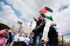 Palestinian demonstration Royalty Free Stock Photos