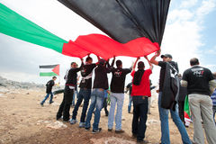 Palestinian demonstration Royalty Free Stock Images