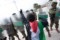Palestinian demonstration Stock Photos