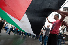 Palestinian demonstration Royalty Free Stock Photography