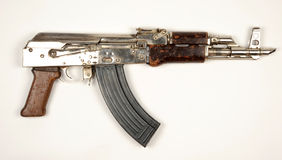 Palestinian Hamas Kalashnikov carbine Stock Photos